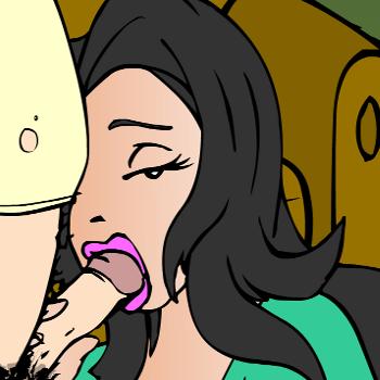Малкова порно игры с чарли засовывает голову