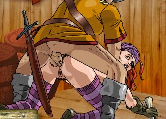 Секс на пиратском корабле